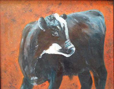 Painting - Black Beauty by Jean Ann Curry Hess