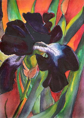 Painting - Black Beauty by Marsha Woods