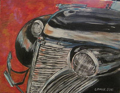 Litvack Painting - Black Beauty by Michael Litvack