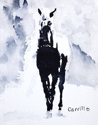 Ruben Carrillo Wall Art - Painting - Black Beauty by Ruben Carrillo