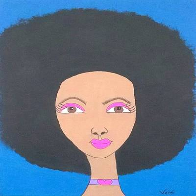 Painting - Black Beauty by Yvonne Carson