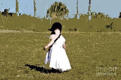 Youth Digital Art - Black Bonnet by David Lee Thompson