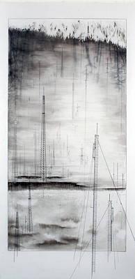 Black Breeze Art Print