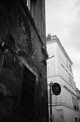 Photograph - Black Building, White Building by Nacho Vega