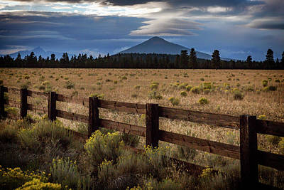 Photograph - Black Butte Lenticular by Cat Connor