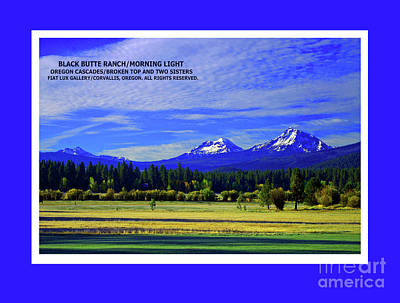 Black Butte Ranch Photograph - Black Butte Ranch Morning Light by Michael Moore