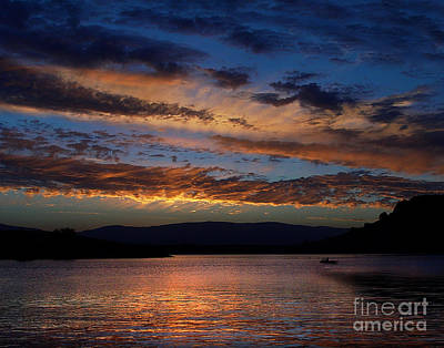 Photograph - Black Butte Sunset by Peter Piatt