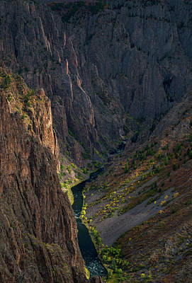 The Plateaus Photograph - Black Canyon by Joseph Smith