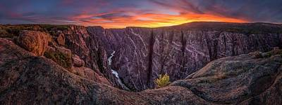 Black Canyon Of The Gunnison Art Print