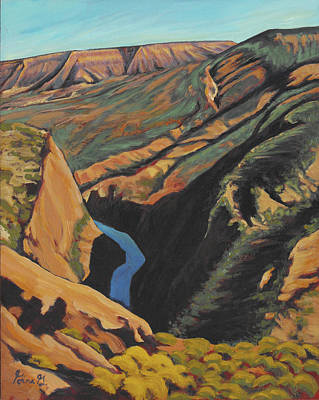 Black Canyon Overlook Art Print