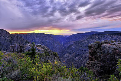 Photograph - Black Canyon Sunset by Mark Whitt