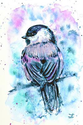 Black-capped Chickadee Art Print