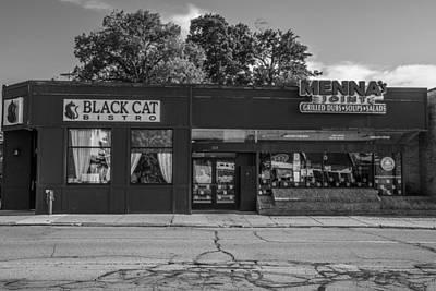 Photograph - Black Cat And Mennas by John McGraw