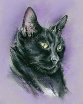 Pastel - Black Cat Sith by MM Anderson