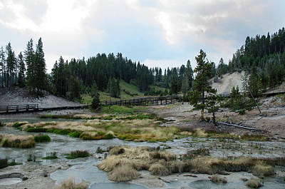 Photograph - Black Cauldron Basin - The Beauty Of Yellowstone by Rae Ann  M Garrett
