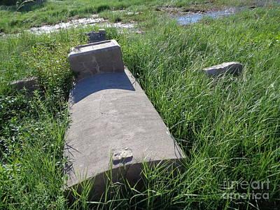 Black Cemetary Grave, Galveston Original by Chuck Taylor