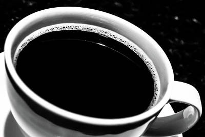 Photograph - Black Coffee by Jeanette Fellows