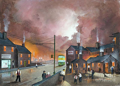 Painting - Black Country Community by Ken Wood