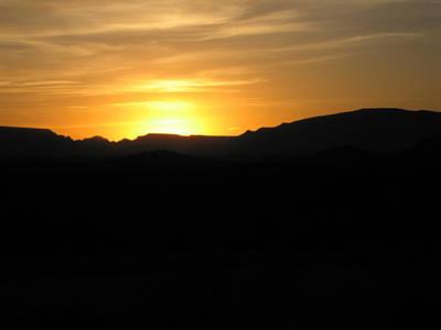Photograph - Black Desert Sunset  by Brendon Bradley