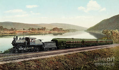 Photograph - Black Diamond Express, 1898. by Granger