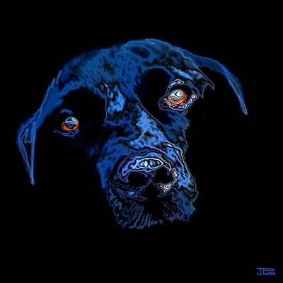 Black Dog Original by Jann Paxton