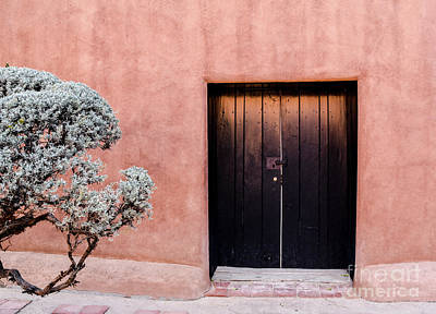 Photograph - Black Door by Cheryl McClure