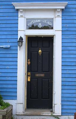 Photograph - Black Door by Douglas Pike