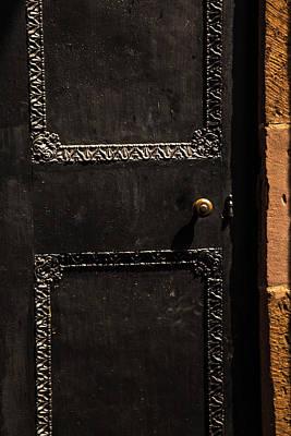 Photograph - Black Door by Karol Livote
