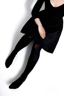 Photograph - Black Dress #5429 by Andrey Godyaykin