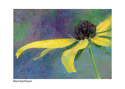 Painting - Black Eyed Susan Iv by Betsy Derrick