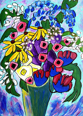 Painting - Black Eyed Susan by Nikki Dalton