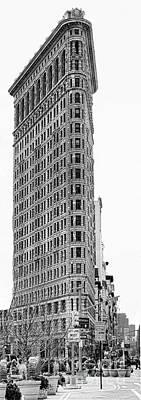Black Flatiron Building II Art Print