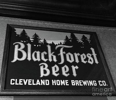 Photograph - Black Forest Beer by Michael Krek