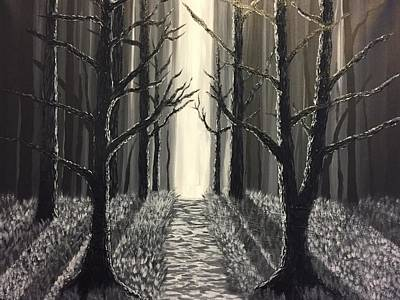Painting - Black Forest  by Chris Bishop