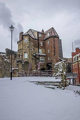Photograph - Black Gate In The Snow V.2 by David Pringle