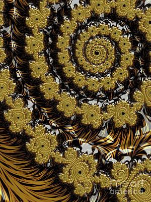 Digital Art - Black Gold by Jon Munson II