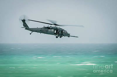 Photograph - Blackhawk Rescue Helicopter by Rene Triay Photography