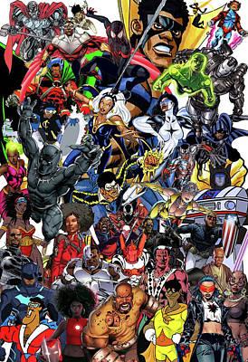 Black Heroes Matter Original