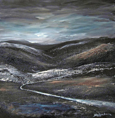 Painting - Black Hills by Roberta Rotunda
