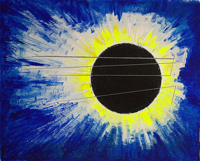 Painting - Black Hole Blues by J R Seymour