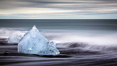 Photograph - Black Ice by Brad Grove