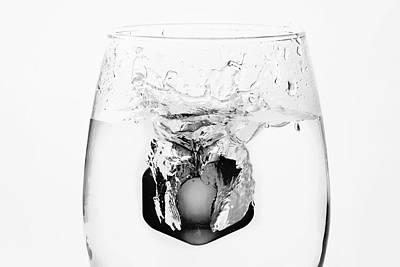Photograph - Black Ice by Vanessa Valdes