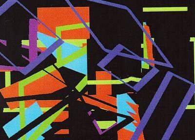 Digital Art - Black In Space by Vickie G Buccini
