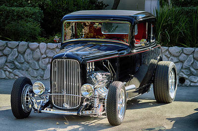 Photograph - Black Injected Hemi by Bill Dutting