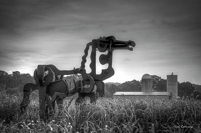 Photograph - Black Iron The Iron Horse Collection Art by Reid Callaway