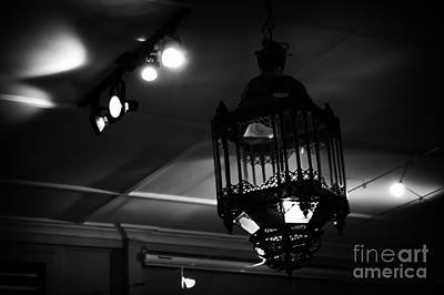 Photograph - Black Iron Vintage Lantern by Sharon Mau