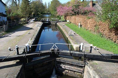 Photograph - Black Jacks Lock by Chris Day