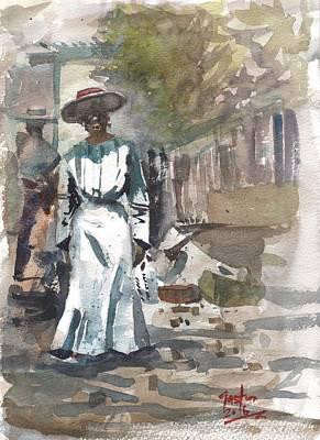 Painting - Black Jamaica's Roaring '20's by Gaston McKenzie