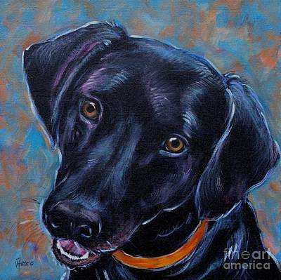 Painting - Black Lab by Vickie Fears