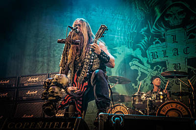 Photograph - Black Label Society by Stefan Nielsen